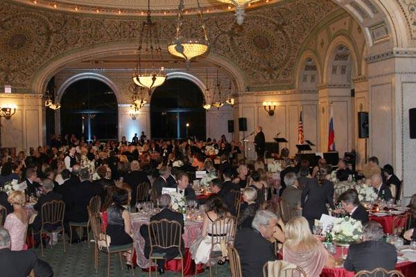Russia Day 2012 at the Chicago Cultural Center Preston Bradley Hall by Mila