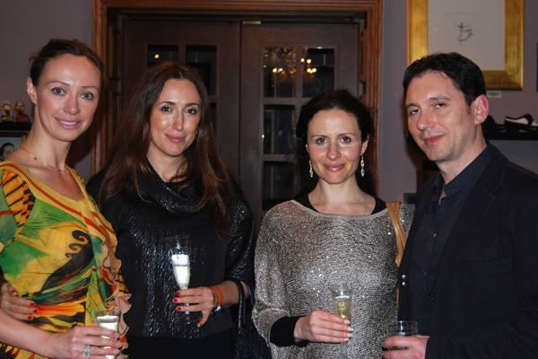 Aleksandra Efimova, Victoria Friedman, Alena Tsimis, Dmitry Sandal