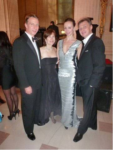 Mr. and Mrs. David Ormesher (President of the Board), Aleksandra Efimova, Oleg Vassiliev