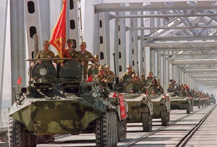 Вывод последней колонны Советских войск из Афганистана