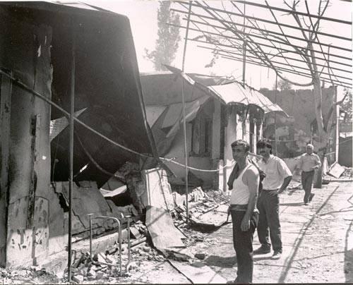 Андижан после еврейско-армянского погрома в мае 1990 года