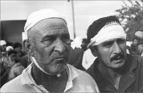 Турки-месхетинцы, пострадавшие от погромов
