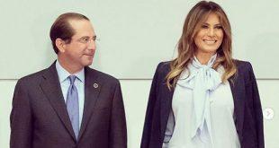 «Трамп — счастливчик»: Мелания Трамп покорила Instagram новым деловым образом