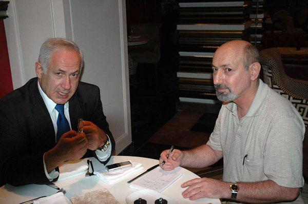 Памятное интервью автора с Б.Нетаниягу